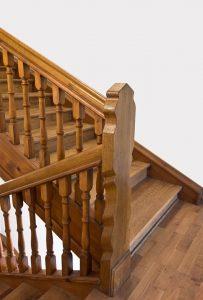 Escaleras de madera en Chapinero