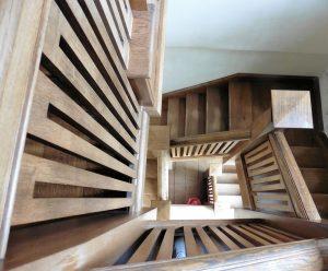 Escaleras de madera en Chía