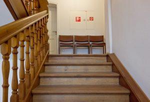 Escaleras de madera en Rosales